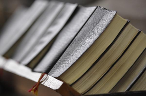 Gesangbücher in der Dominikanerkirche